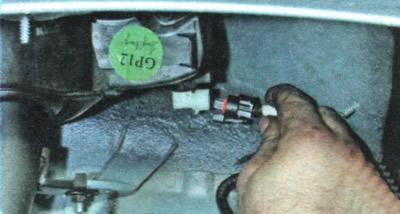 фиксатор топливной трубки бензобака chevrolet aveo