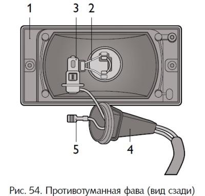 0063 - Замена лампы противотуманки шевроле нива