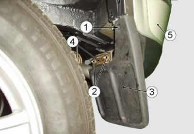 Как снять задний бампер на шевроле нива